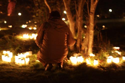 Alla helgons dag 2010 Skogskyrkogården Sthlm