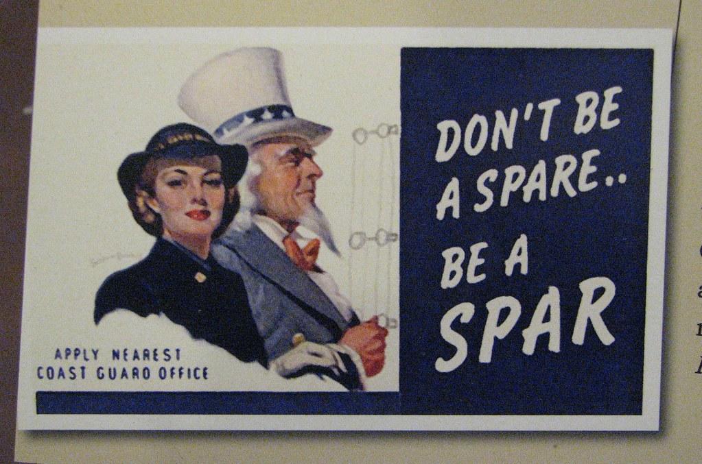 Think, that coast guard spar vintage poster were