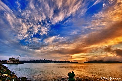 sky sunrise dramatic sausalito sfbay sfist