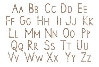 sans-serif-alphabet
