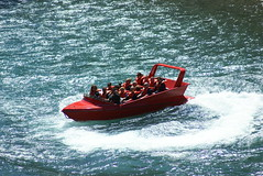 Jetboating in the Waiau Gorge