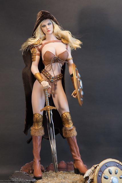 TBLeague PHICEN 1//6 PL2016-85 ARHIAN Head Huntress Figure Complete Box Set