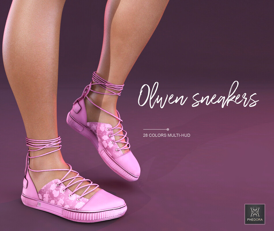 Phedora for Uber- Olwen sneakers ♥