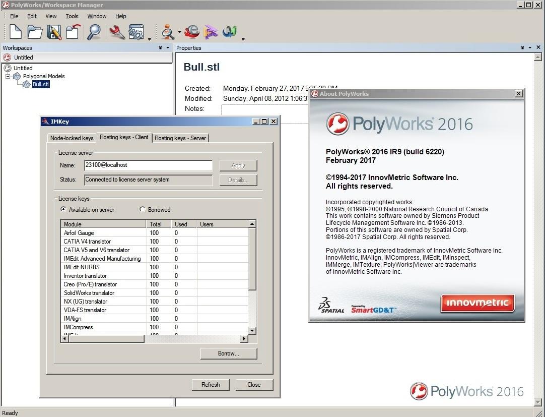 download InnovMetric PolyWorks 2016 IR9 x86 x64 full license forever