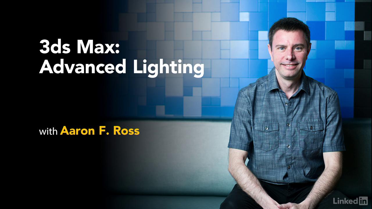 3dsMax 2017 Advanced Lighting videos training dvd