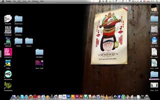 A ninja's desktop