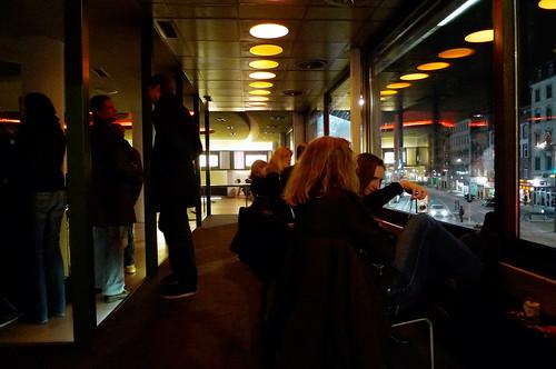 Party im Ersten Stock Dritter Abend. Dezember 2009