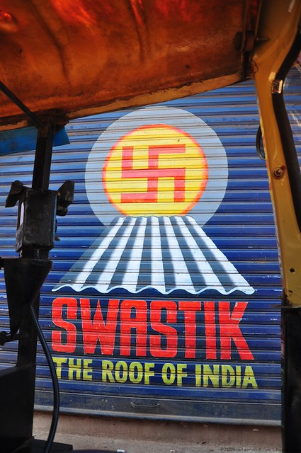 Swastik - the roof of india - whatever this is all about!