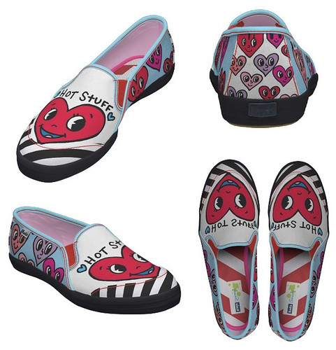 Valentine Hearts shoes by jelene
