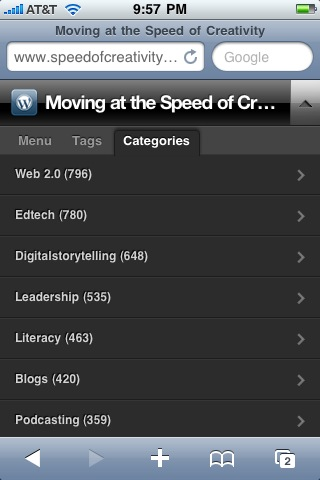 Moving at the Speed of Creativity - Configuring WordPress for Mobile Theme Compatibility with WP ...