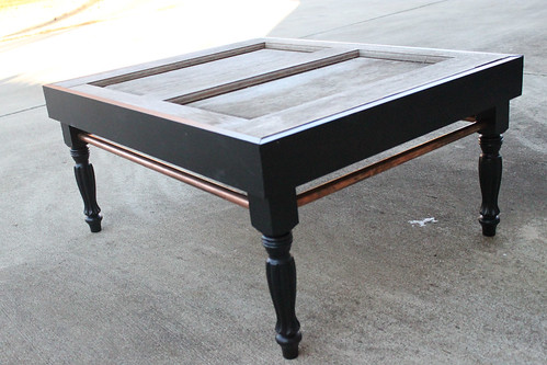 exterior door turned a coffee table repurposing at it 39 s. Black Bedroom Furniture Sets. Home Design Ideas