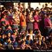 Crowd watching the parade, Guatemala