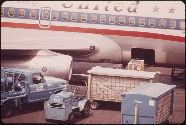 At Portland International Airport 05/1973