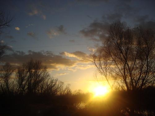 Sun says goodbye