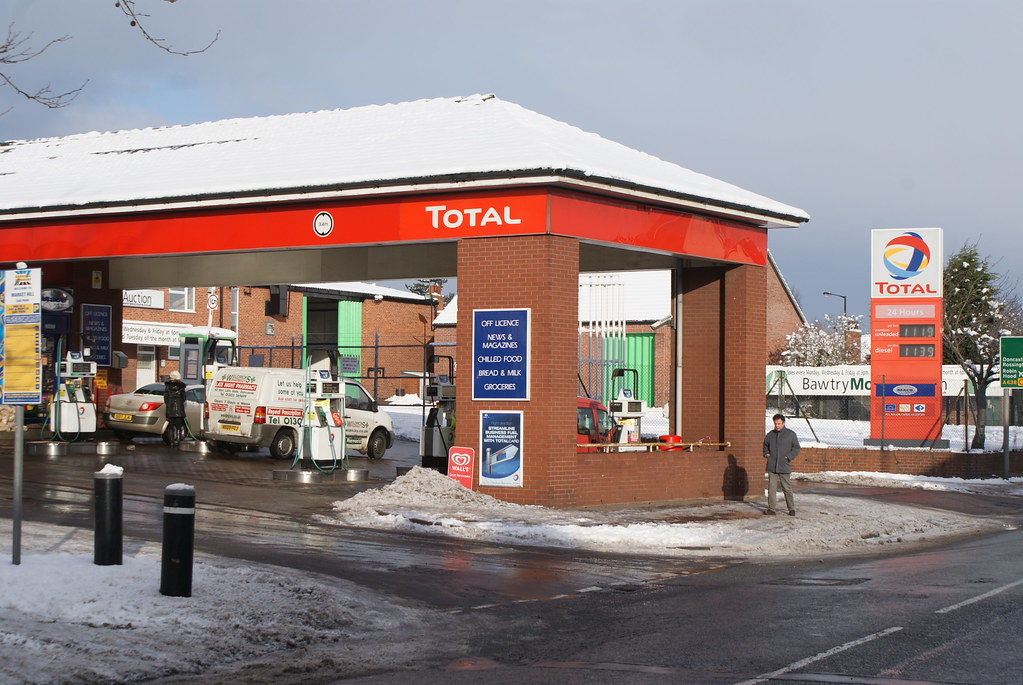 Total, Bawtry South Yorkshire.
