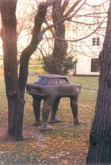Trabant monument - Hradčany
