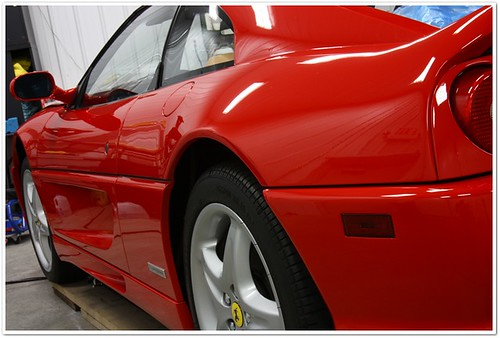 Auto Detail of a 1998 Ferrari 355 by Esoteric Auto Detail
