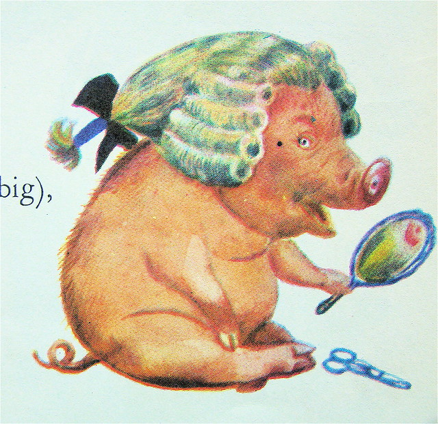 Pig In A Wig 95