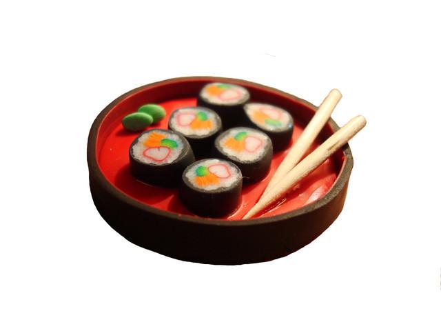 Polymer Clay Sushi | F...