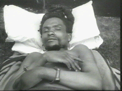 Kenyan Land and Freedom Army Field Marshall Dedan Kimathi after he was captured by the British in 1956. Kimathi was executed by the colonialists in 1957. The survivors of the war are seeking reparations from the British. by Pan-African News Wire File Photos