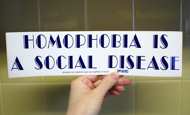 homophobia is a social disease essay Learn more about homophobia, stigma, and discrimination among msm one way to handle the stress from stigma and discrimination is by having social support.