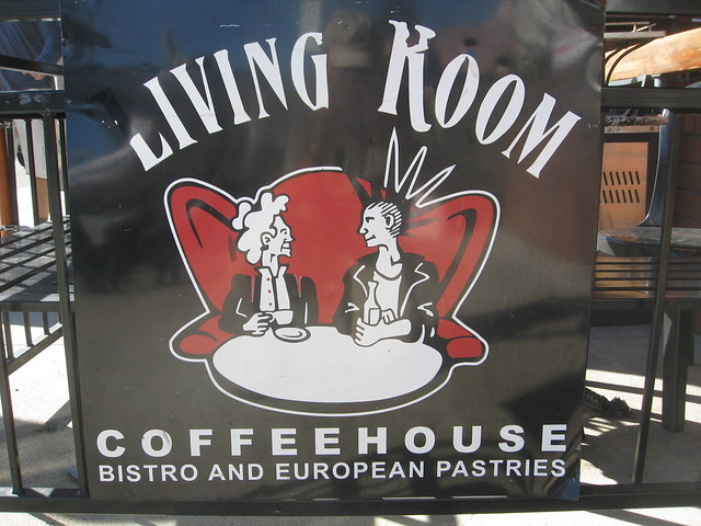 living room cafe la jolla on Living Room Coffeehouse Bistro Seen In La Jolla California