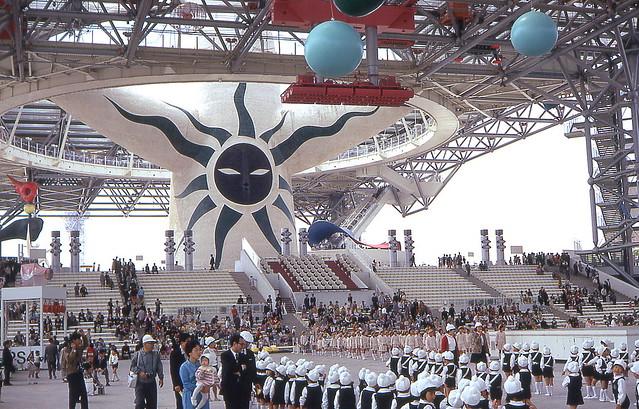 10-30 Osaka - Expo 70 - Japan pavilion