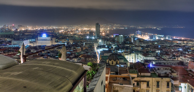 Napoli, Italia / Naples, Italy - night HDR