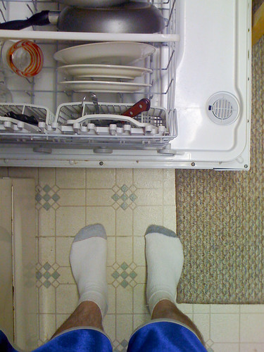 cameraphone camera eye feet apple cup socks shoe shoes phone looking view floor dish legs perspective plate ground down surface 3g cups dishwasher plates dishes washer phones iview iphone fromaphoneseyeview