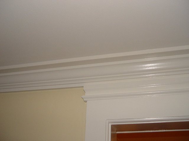 Living Room Crown Molding 1 More Crown Molding And Trim In Flickr Photo Sharing