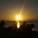 menikmati sunrise @sanur beach