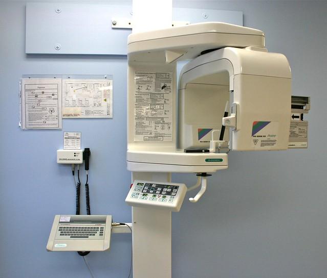 used panoramic x machine