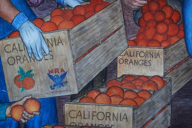 カリフォルニアのオレンジ