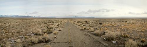 road abandoned utah highway nevada forgotten pavment westdesert