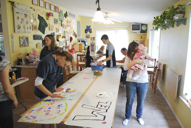 Banner-Making Party