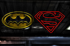 HDR Batman Vs. Superman