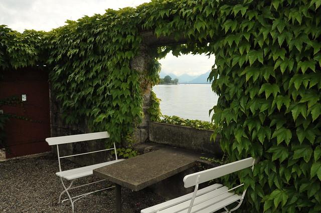 Le petit maison villa le lac corseaux le corbusier for B b la petit maison