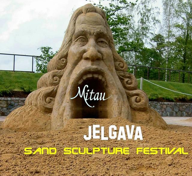 003 Jelgava - Fest der Sandskulpturen