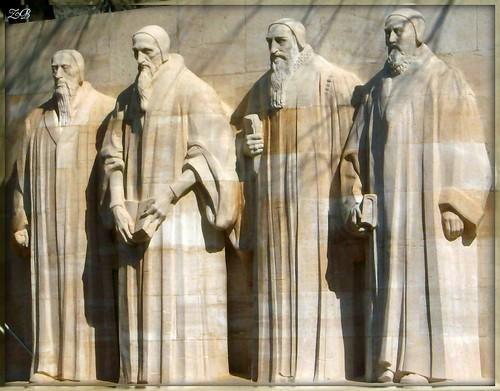 Mur des Réformateurs - Reformation Wall 2