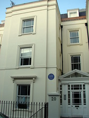 Photo of Alexander Fleming blue plaque