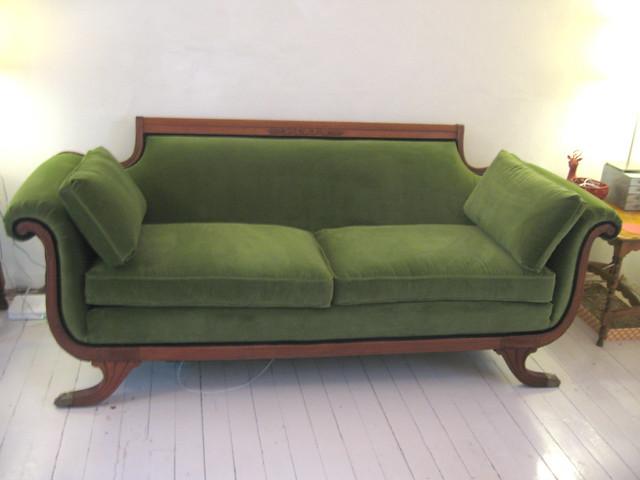 Green Velvet Sofa Flickr Photo Sharing