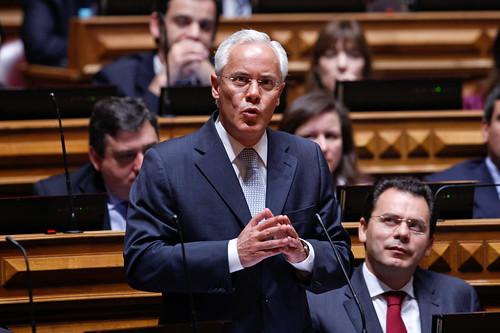 Miguel Macedo em debate quinzenal com o Primeiro Ministro