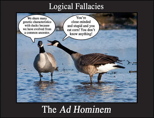 fallacies in commercials Donald trump's defining characteristic, and his biggest weakness, is his ego and, it's because of this trait that his primary response to any criticism, constructive or not, is an ad hominem attack an ad hominem is a logical fallacy that in latin means to the man it means that when.