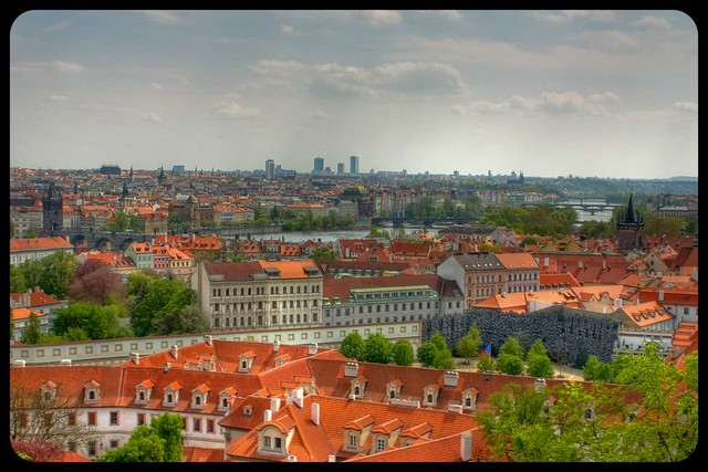 HDR City prague view