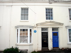 Photo of John Ruskin blue plaque