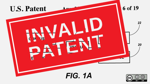 Standing up to a patent bully