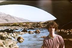 Luke, bridge and stream