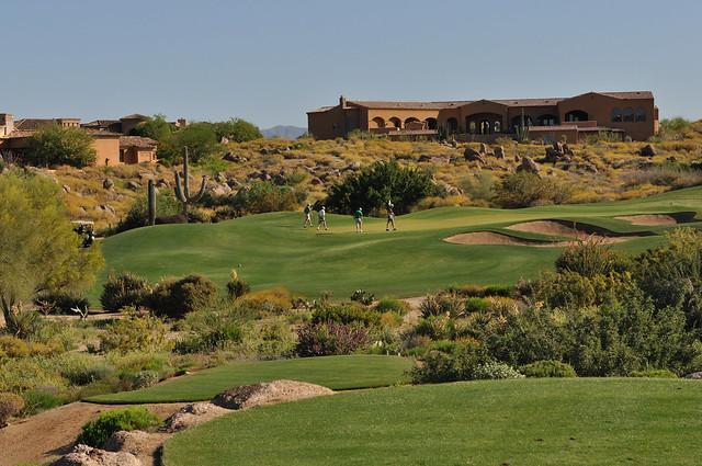Troon North Golf Course Locker Room