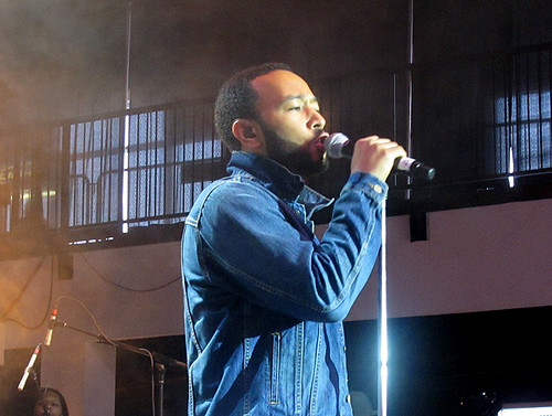 John Legend at Gulf Aid