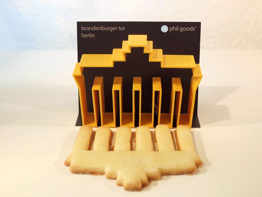 Das Brandenburger Tor als Plätzchen